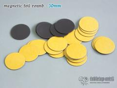30mm Round Magnetic Foil (25)
