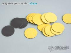 32mm Round Magnetic Foil (25)