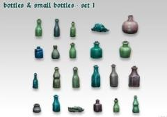 Bottles and Small Bottles #1