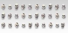 Skull Set #2 (28mm)