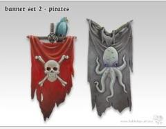 Banner Set #2 - Pirates