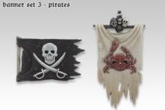 Banner Set #3 - Pirates