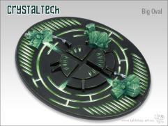 90x110mm Oval Base - Crystal Tech