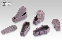Wood Coffins Set #1