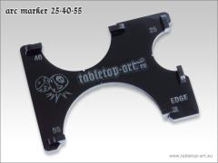 Arc Marker 25-40-55 - Black