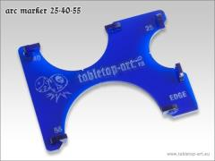 Arc Marker 25-40-55 - Blue