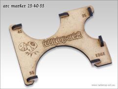 Arc Marker 25-40-55 - MDF