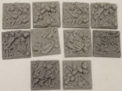 Bonefield - Square - 25x25 Collection #1