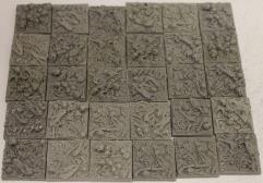 Bonefield - Square - 25x25 Collection #4
