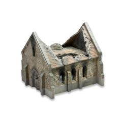 Destroyed Normandy Church