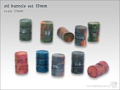 Oil Barrels Set