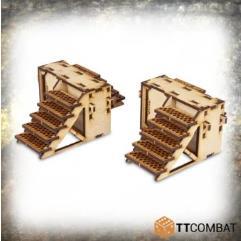 Iron Labyrinth Stairs