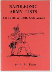 Napoleonic Army Lists - 1/5th & 1/20th Scale Armies