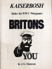 Kaiserbosh - Rules for WWI Wargames