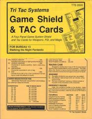 Game Shields and TAC Cards