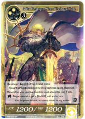Arthur Pendragon, King of the Round Table (SR) (Foil)