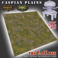 4' x 4' - Caspian Plains