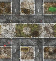4' x 4' - Urban Combat #1