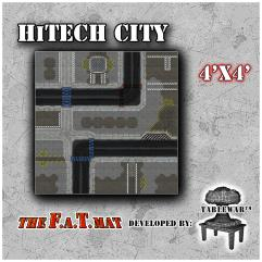 4' x 4' - HiTech City