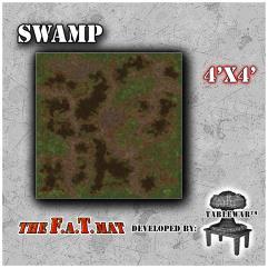 4' x 4' - Swamp