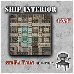 4' x 4' - Ship Interior