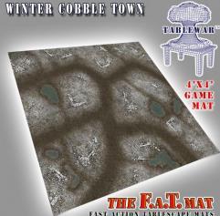 4' x 4' - Winter CobbleTown
