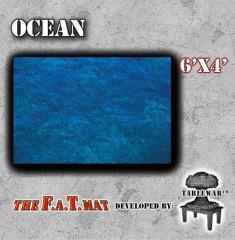 6' x 4' - Ocean