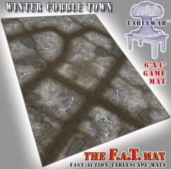 6' x 4' - Winter CobbleTown