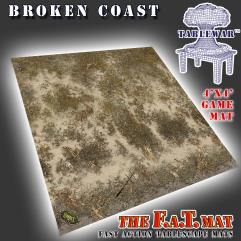 4' x 4' - Broken Coast