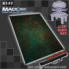 4' x 3' - Rust