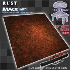 """30"""" x 30""""' - Rust"""
