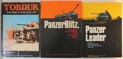 Avalon Hill WWII Tank Battles Collection - 3 Games!