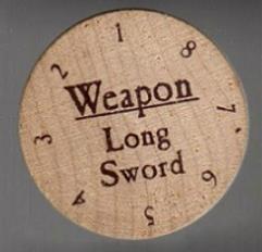 Weapon - Longsword (Wood)
