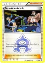 Team Aqua Admin (U) #25