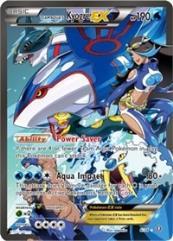 Team Aqua's Kyogre EX (Ultra R) #6 (Holo)