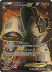 Terrakion EX (121 Full Art) (Ultra R) #121 (Holo)