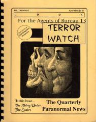 "Terror Watch #2 ""The Thing Under the Stairs, Cretaceous Sanctuary"""