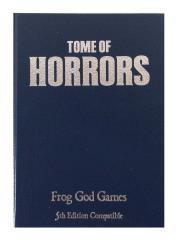 Tome of Horrors (5e) Leather Edition