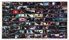 Return of the Jedi - Widevision Trading Cards, Uncut Complete Set!