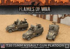 T30 75mm Assault Gun Platoon