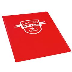 9 Pocket Portfolio - Standard Size, Red