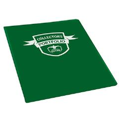 9 Pocket Portfolio - Standard Size, Green