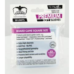 Square Size Board Game Sleeves - Premium (10 Pack of 50)