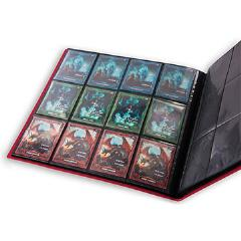 12 Pocket Flexxfolio - Red