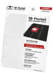 18-Pocket Side-Loading Pages - White (10)