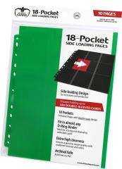 18-Pocket Side-Loading Pages - Green (10)