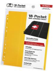 18-Pocket Side-Loading Pages - Yellow