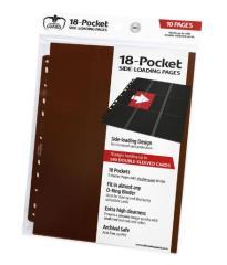 18 Pocket Side-Loading Pages - Brown (10)