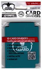 69mm x 94mm Card Dividers - Light Petrol (10)