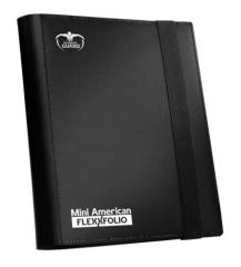 9 Pocket Portfolio - Mini American Size, Black